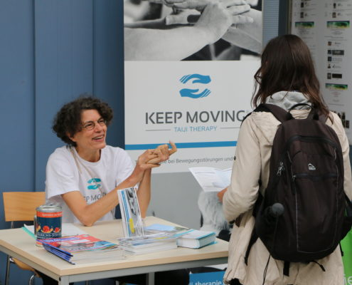 Keep Moving | Taiji-Therapie - Parkinson Symposium in Berlin · Infostand Keep Moving