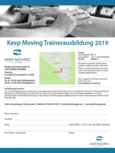 Keep Moving | Taiji-Therapie bei Bewegungsstörungen und Parkinson · Trainerausbildung